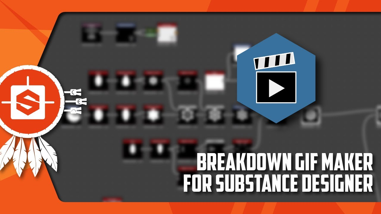 [Installation & Use] Breakdown GIF Maker for SUBSTANCE DESIGNER