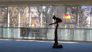 Спортивная Акробатика. Открытый чемпионат г. Луцка. 2015. Женская пара 11-16 лет