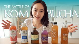 Kombucha Taste Test– Finding the Best Tasting Kombucha 潮人如你,竟然不知道「康普茶」