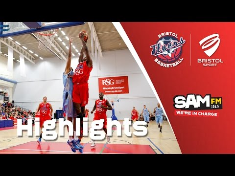 HIGHLIGHTS: Bristol Flyers 58-67 Glasgow Rocks