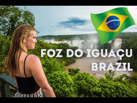 Foz do Iguaçu - Amazing waterfall in Brazil - Travel Vlog