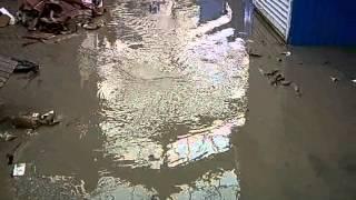 калиновский рынок потоп 27,07,2008
