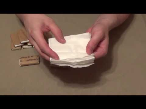 MRE Toilet Paper Review an Excellent Multi Purpose Prepping Item