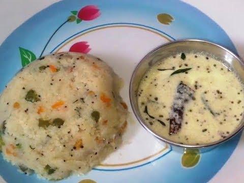 Vegetable Upma - Telugu Vantalu - South Indian Vegetarian Recipes - Breakfast Dishes