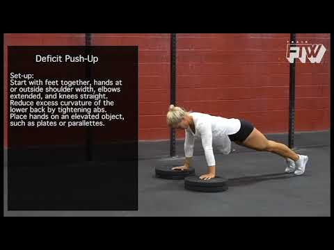 Image result for plate deficit push ups