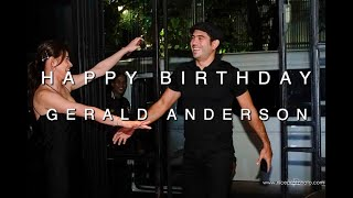 Gerald Anderson Surprise Birthday Party By Bea Alonzo #TrentaNaSiBudoy 1/2