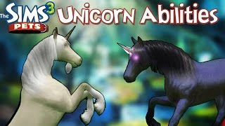 The Sims 3 Pets: Unicorn Abilities and How to Find Them