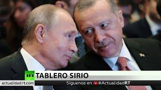 Putin y Erdogan abordarán la crisis en Siria ante la incertidumbre por el repliegue de EE.UU.