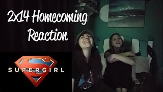 Supergirl 2x14 - Homecoming Reaction