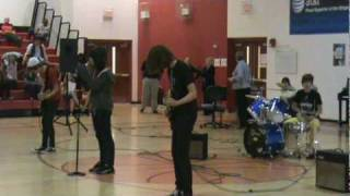 Check Yes Juliet by We The Kings (cover) School Talent Show