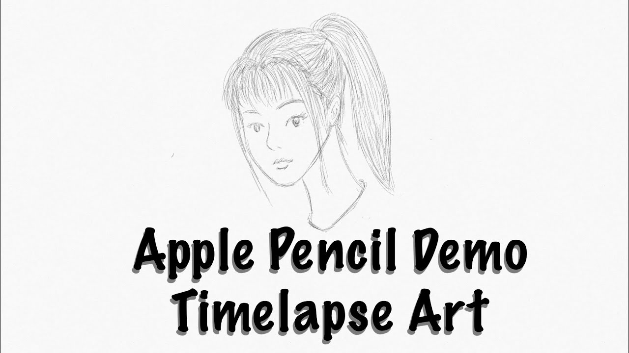 Sketching apple pencil 6x timelapse sketches app by zen demo by tkviper com