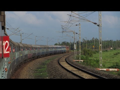 Coromondal Express Full Journey Compilation: Kolkata-Chennai Part I