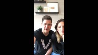 At Home With Michael and Luisana - March 23, 2020