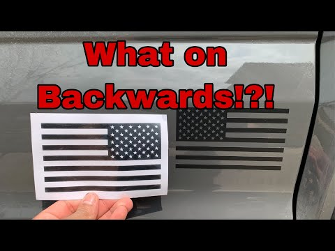 American Flag On Backwards?!?