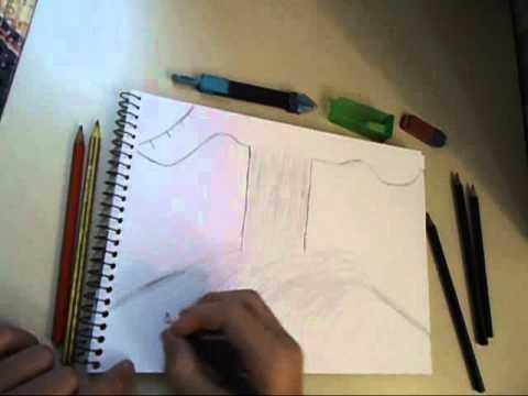 Como Desenhar Uma Paisagem 3D - Desenhos artísticos
