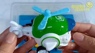 Car for Kids, Review Cars Toys Tractor, Fire Truck, Helicopter , Funny Video For Kids