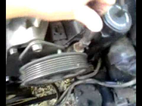 Jeep 4 0 Drive Belt Or Jeep Serpentine Belt Instal Youtube