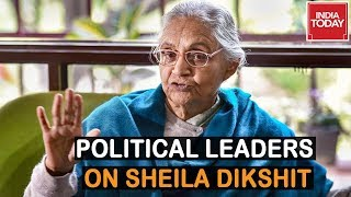 Political Leaders React To Sheila Dikshit's Demise