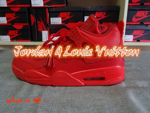 louis vuitton 4s. air jordan 4 louis vuitton don 4s