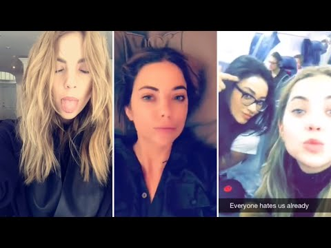 Ashley Benson | Snapchat Videos Compilation (October 2015) (ft Shay Mitchell & Hailey Baldwin)