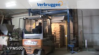 Palletizing | Automatic bag Palletizer VPM-5 by Verbruggen |  palletizing Robot