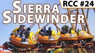 Sierra Sidewinder Spinning Roller Coaster @ Knott's Berry Farm