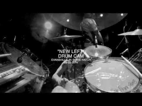 "KINGMAKER - ""NEW LEFT"" GoPro Drum Cam 2014"