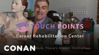 Touch Points: A Career Rehabilitation Service For Creeps - CONAN on TBS