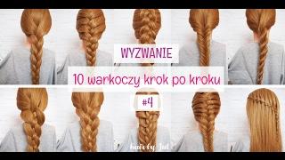 Kłos - 10 warkoczy krok po kroku - hair by Jul