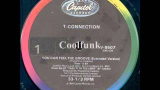 Baixar - T Connection You Can Feel The Groove 12 Extended 1984 Grátis