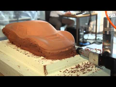 Automotive Clay Design Process