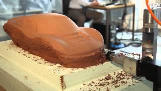 Automotive Clay Design Process