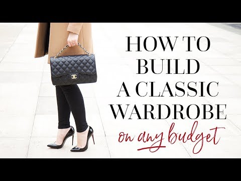 HOW TO BUILD A CLASSIC WARDROBE   AD