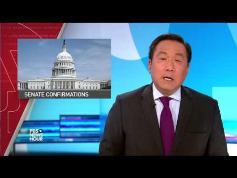 News Wrap: Trump revives Keystone, Dakota pipeline projects