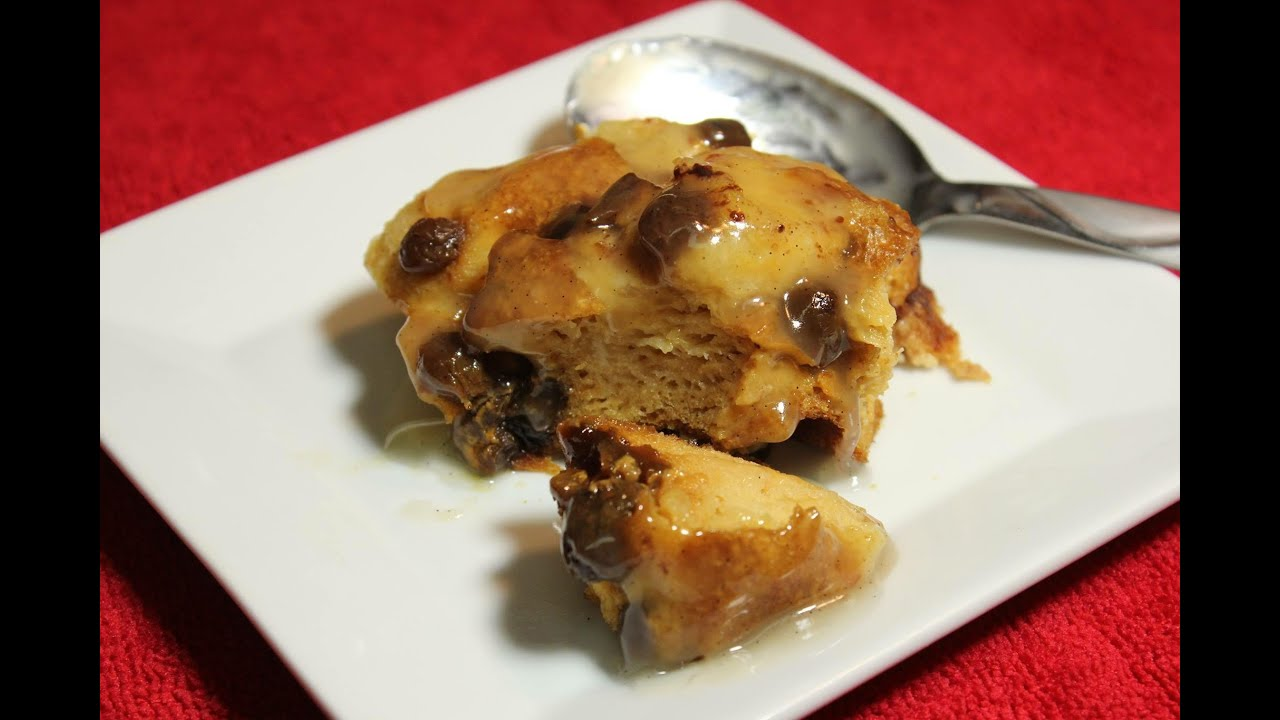 Raisin Bread Pudding In The Crock Pot Youtube