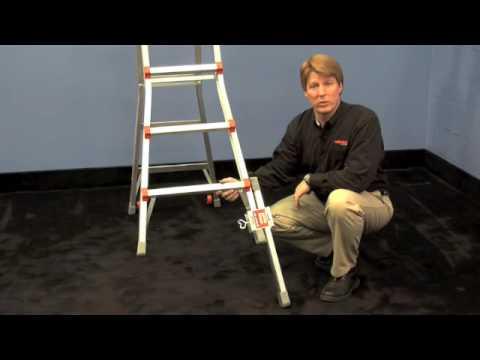 Little Giant Leg Leveler Youtube