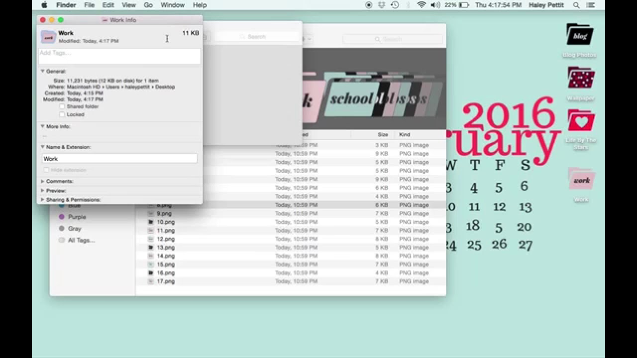 how to change folder icons on a mac youtube. Black Bedroom Furniture Sets. Home Design Ideas