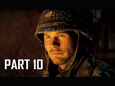CALL OF DUTY WW2 Walkthrough Part 10 - Battle of the Bulge (Campaign Story Let