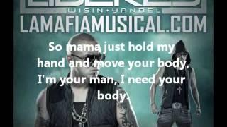 Letra Algo Me Gusta De Ti (ft. Chris Brown & T-Pain) - Wisin Y Yandel