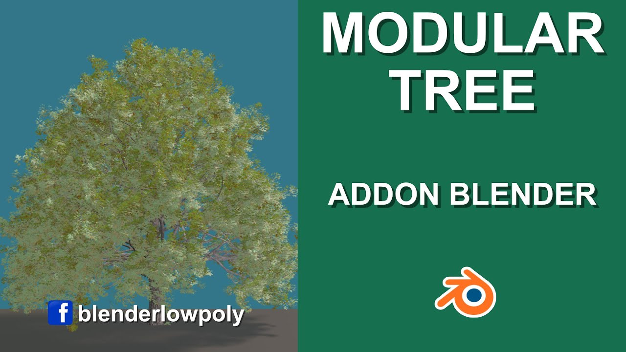 Blender Modular Tree ADDON