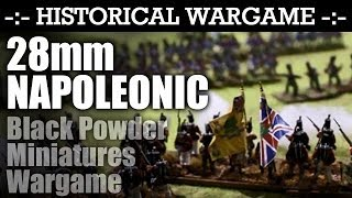28mm Napoleonic Battle Miniatures Game by SSWG Wargames Club | HD Video