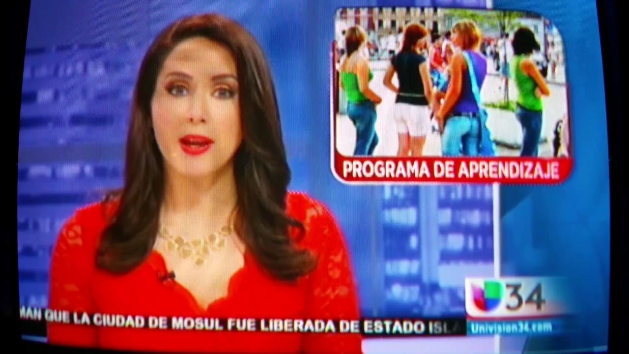 Univision 34 TV- SMRT 2 0 Visit to Whittier