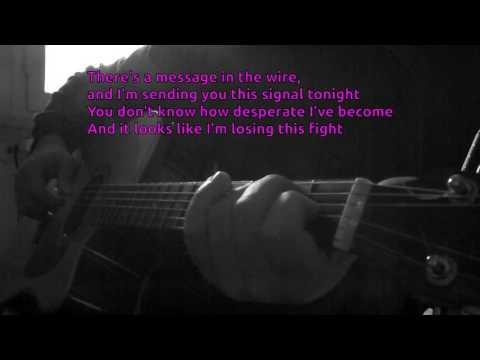 John Waite - Missing You KARAOKE GUITAR (D# Key) REQUEST