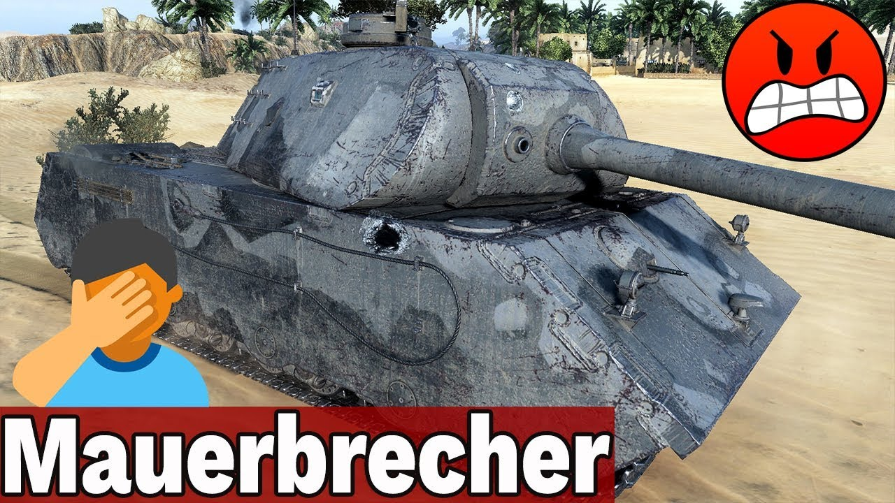 PREMKA DO POPRAWY – MAUERBRECHER – World of Tanks