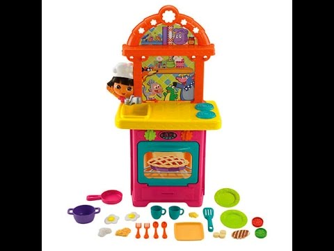 Cocina de dora la exploradora juguetes infantiles youtube - Dora la exploradora cocina ...