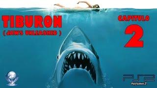 Tiburon (Jaws Unleashed, Gameplay en Español, Ps2) Capitulo 2 streaming