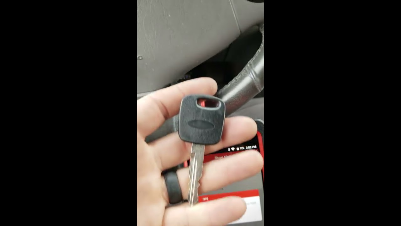 2000 Ford Windstar Blinking Theft Light Part1