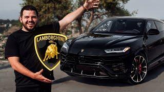 MY NEW LAMBORGHINI URUS IS HERE! MY DREAM CAR!