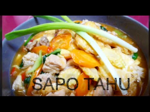 Sapo Tahu Jamur | Resep #391 from YouTube · Duration:  2 minutes 53 seconds