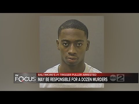 "Baltimore Police arrest man they call city's ""No. 1 trigger puller"""